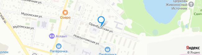 Оренбургская улица