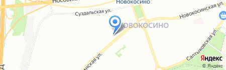 Фантазия на карте Москвы