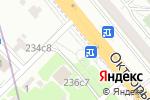 Схема проезда до компании Иксора в Котельниках