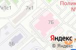 Схема проезда до компании Городская поликлиника №66 в Москве