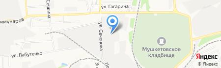 San well на карте Донецка