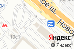 Схема проезда до компании Белые росы в Котельниках