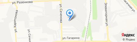 Доноптбакалея на карте Донецка