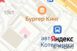 Схема проезда до компании Чебуречная в Котельниках