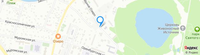 улица Чёрное Озеро