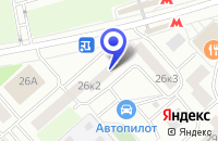 Схема проезда до компании САЛОН КРАСОТЫ АРГОС-99 в Москве