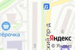 Схема проезда до компании Котельники в Котельниках