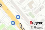Схема проезда до компании Технодеталь в Октябрьском