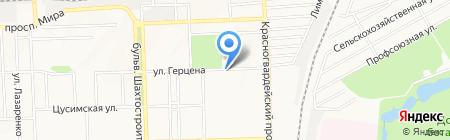 Букурия на карте Донецка