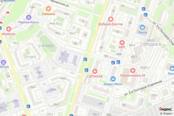Ремонт телевизоров Улица Маршала Полубоярова на яндекс карте