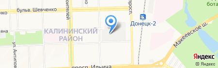 Пожтехсервис на карте Донецка