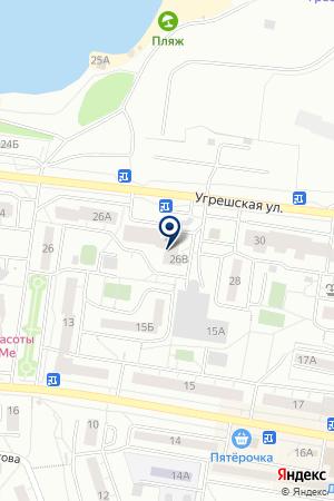 ОТДЕЛ АРХИТЕКТУРЫ И ГРАДОСТРОИТЕЛЬСТВА УПРАВЛЕНИЕ ПО ГРАДОСТРОИТЕЛЬСТВУ И ИМУЩЕСТВУ на карте Дзержинского
