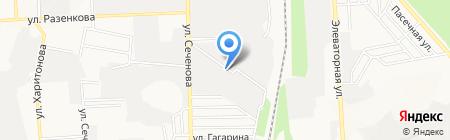 Хайн-Донбасс на карте Донецка