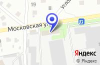 Схема проезда до компании ТФ ПРОКОМПЛЕКТ в Болшево