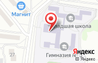 Схема проезда до компании Гимназия №5 в Дзержинском