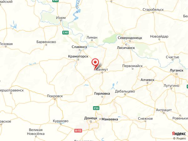 поселок Калиновка на карте