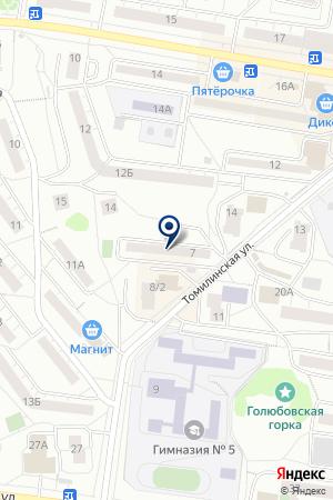 САЛОН ВИДЕОПРОКАТ на карте Дзержинского