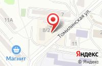 Схема проезда до компании IEC в Дзержинском