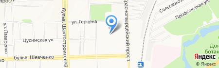 Детский сад №143 на карте Донецка