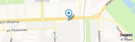 Орешково ЧП на карте Донецка