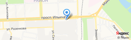 Мастер технологий на карте Донецка