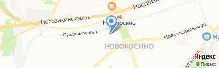 Пальмира на карте Москвы