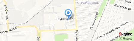 Детский сад №300 на карте Донецка
