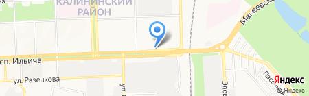 Альфа Гарант на карте Донецка