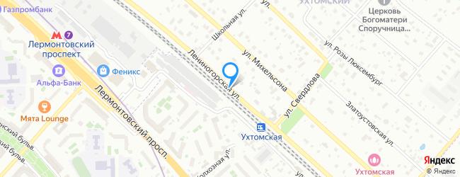 Лениногорская улица