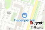 Схема проезда до компании Мебельная компания в Москве