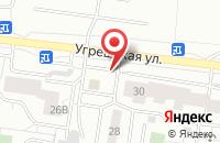 Схема проезда до компании Ключ Здоровья в Дзержинском
