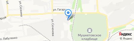 Интерпайп Украина на карте Донецка