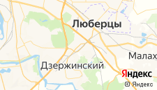 Гостиницы города Котельники на карте