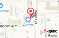 Схема проезда до компании Дикси в Правдинском