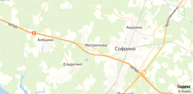 Митрополье на карте
