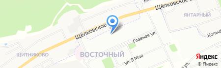 Средняя общеобразовательная школа №1021 с дошкольным отделением на карте Москвы
