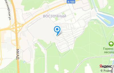 Местоположение на карте пункта техосмотра по адресу г Москва, ул Западная, д 6 стр 11