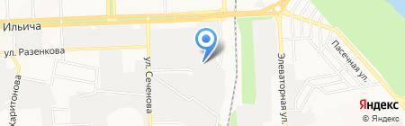 Думка на карте Донецка