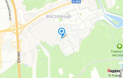 Местоположение на карте пункта техосмотра по адресу г Москва, ул Западная, д 6