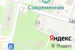 Схема проезда до компании Шиномонтажная мастерская в Лесных Полянах