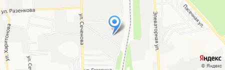 Донагросоя на карте Донецка