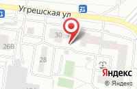Схема проезда до компании Формат в Дзержинском