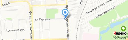 Островок на карте Донецка