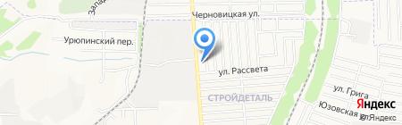 Schutz на карте Донецка