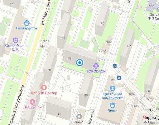 Жилищно-строительный кооператив «Орбита» на карте Люберец