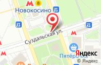 Схема проезда до компании Асбилдинг в Москве