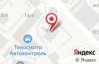 Схема проезда до компании Водоканалстрой в Москве