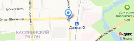 STAB Group на карте Донецка