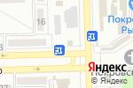 Схема проезда до компании Азовские пампухи в Донецке