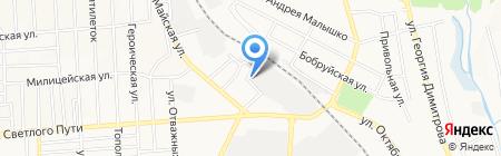 Донбассбудресурсы на карте Донецка